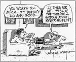 worry cartoon