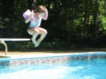 Sohpia jumping