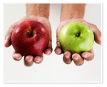 comparison apples