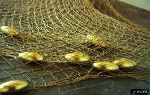 INOL gold net with catch