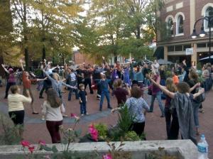 2012-10-19 flash mob