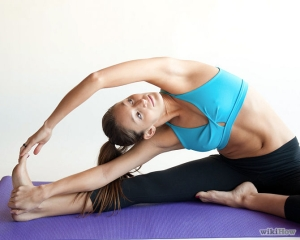 choosing sides revolved head to knee pose