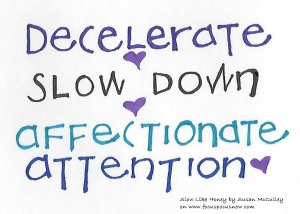 decelerate words 100115