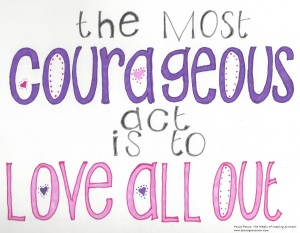courageous love all out 021716