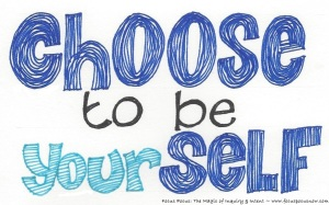 choose to be yourSELF