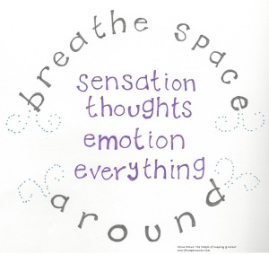 breathe space around 040616