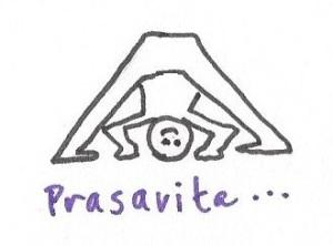 prasarita